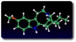 Molecula de ibogaina